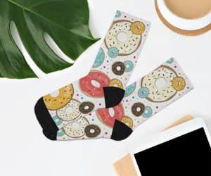 etsy, funky socks, and sprinkles socks image