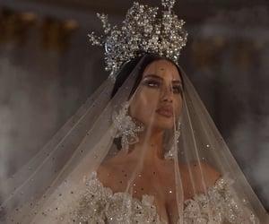 Queen, wedding, and bride image