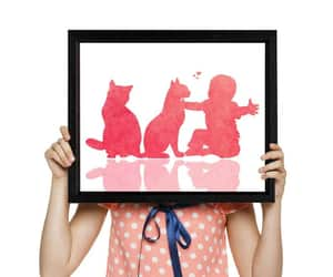 etsy, baby print, and baby shower gift image