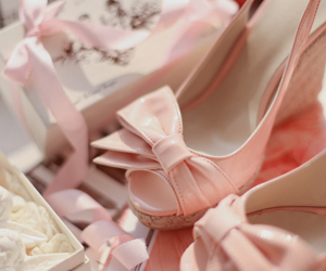 pink and wedges image