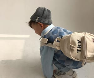aesthetic, asian, and backpack image