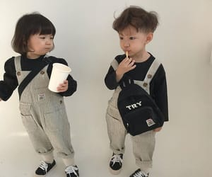 aesthetic, asian, and babies image