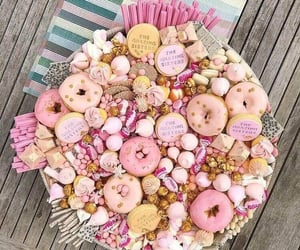 candy, decoration, and donuts image