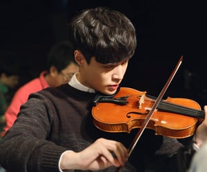 exo, violin, and lay image