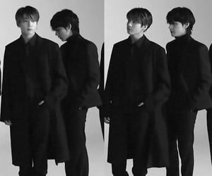 photoshoot, jungkook, and taehyung image