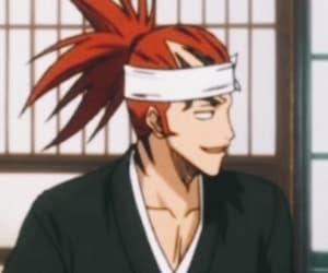 anime, rukia, and renjii abarai image