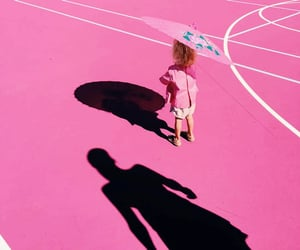 child, photography, and tennis court image