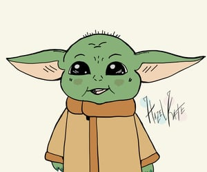 star wars, yoda, and the child image