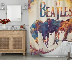 home, living, and shower curtain image