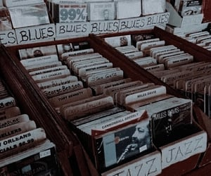 music, jazz, and vintage image
