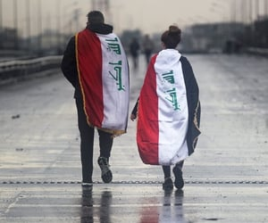 baghdad, flag, and freedom image