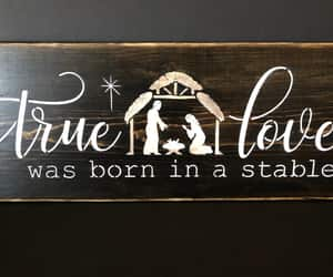 etsy, christmas decor, and true love image