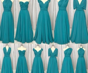wedding party dresses, vestido de festa de longo, and chiffon bridesmaid dress image