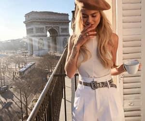 blonde, cigarette, and elegante image