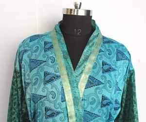 kimono, changinggown, and bahokimono image