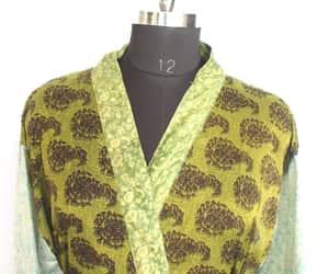 kimono, women fashion, and kimono jacket image