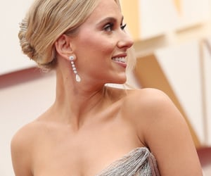 beautiful, Scarlett Johansson, and black widow image