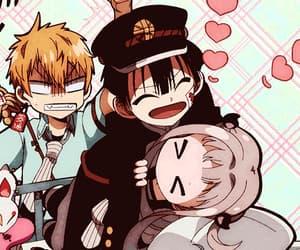 anime, gif, and hanako-kun image