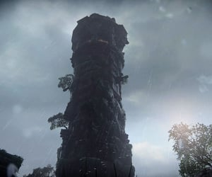 dark, uncharted, and downpour image
