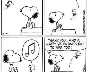 Valentine's Day, woodstock, and peanuts image