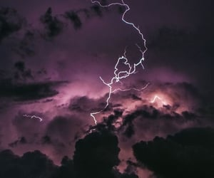 aesthetic, electric, and lightning image