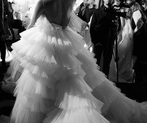 bride, wedding, and weeding dress image