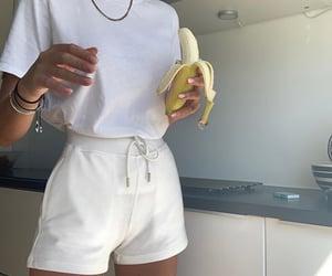 fashion, outfit, and banana image