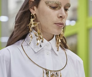 detail, fashion, and gold image
