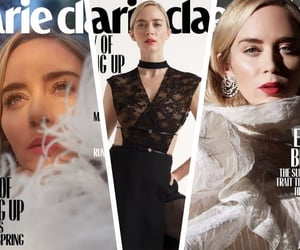 Emily Blunt, fashion magazine, and marie claire image