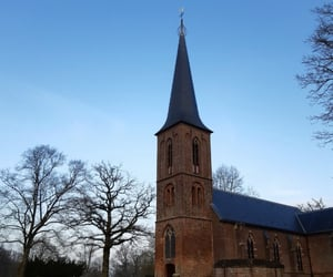 background, church, and winter image