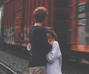boy, distance, and love image