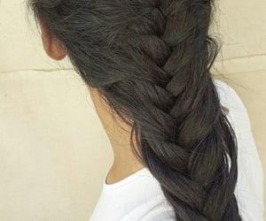 beautiful, braids, and fishtail image
