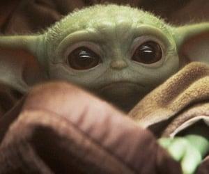 baby, starwars, and yoda image