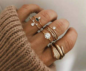 rings, style, and beauty image