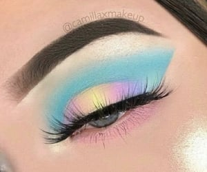 aesthetic, teal, and blue eyes image