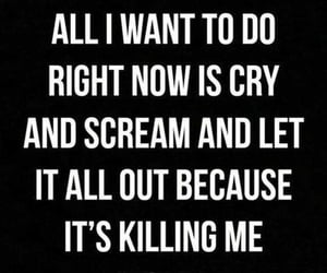 depressed, killing, and quotes image