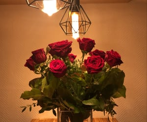 boyfriend, flowers, and Relationship image
