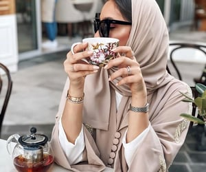 aesthetic, hijab, and interior home image