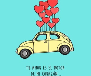 amor, tu, and frases image