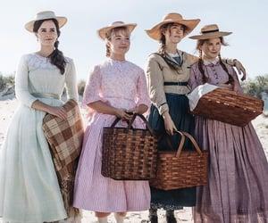 emma watson, little women, and Saoirse Ronan image
