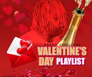 hip hop, Valentine's Day, and music image
