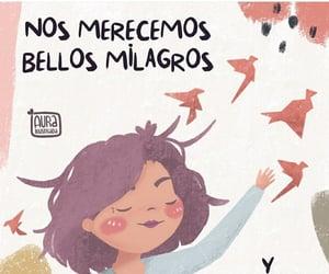 vida, milagros, and frases español image