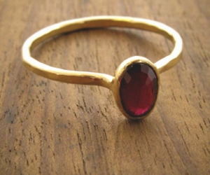 gold, ring, and ruby image