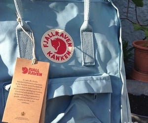blue, kanken, and aesthetic image
