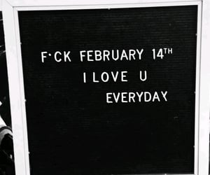 quote and valentines day image