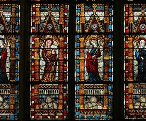 amazing, windows, and church image