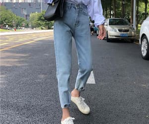 buttons, denim, and jeans image