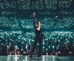 concert, fan, and fans image