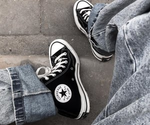 b&w, black-and-white, and shoes image