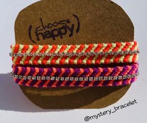 bracelet, diy, and fashion image